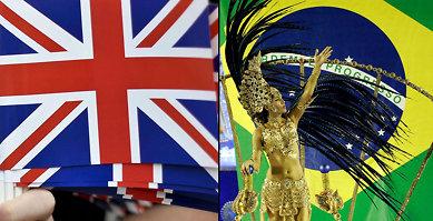 Brasil er større enn Storbritannia