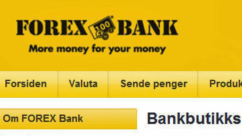 Forexbank valuta