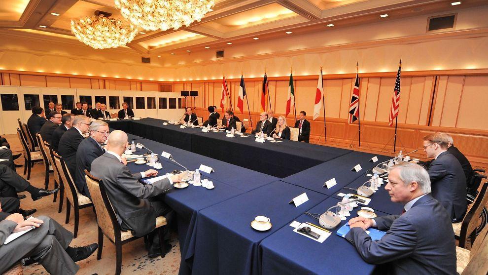 Kostnaden for g7 møte