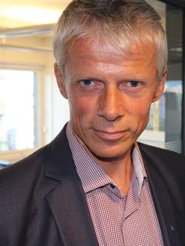 Skattedirektør Hans Christian Holte
